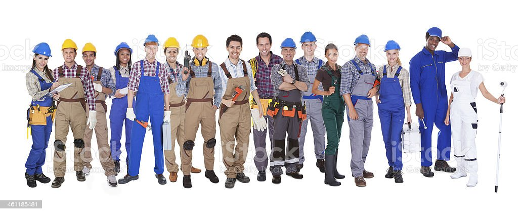 Diverse group of people stock photo