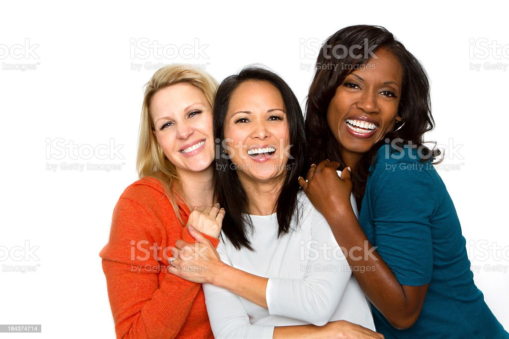 Diverse Group of Woman stock photo