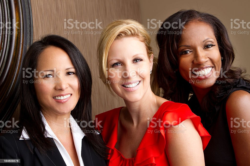 Diverse Group of Women royalty-free stock photo
