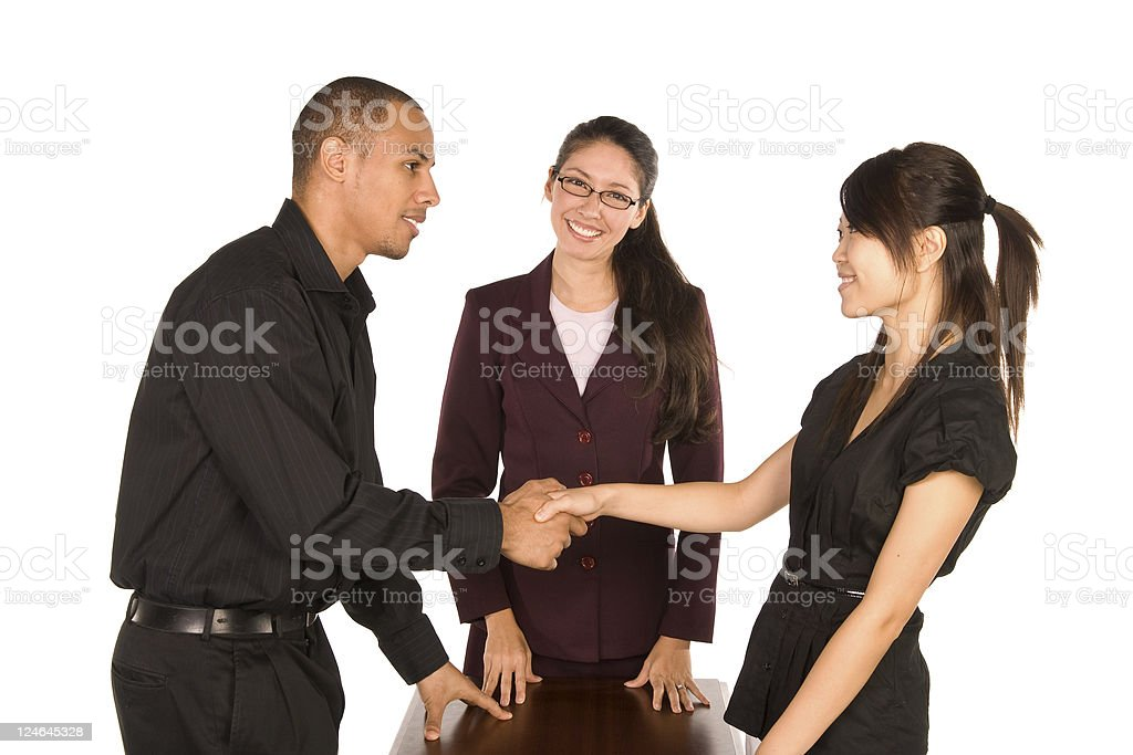 Diverse Group of Young Professionals stock photo