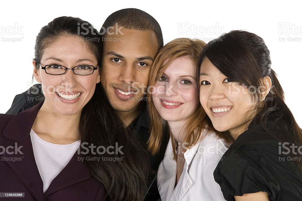 Diverse Group of Young Professionals royalty-free stock photo