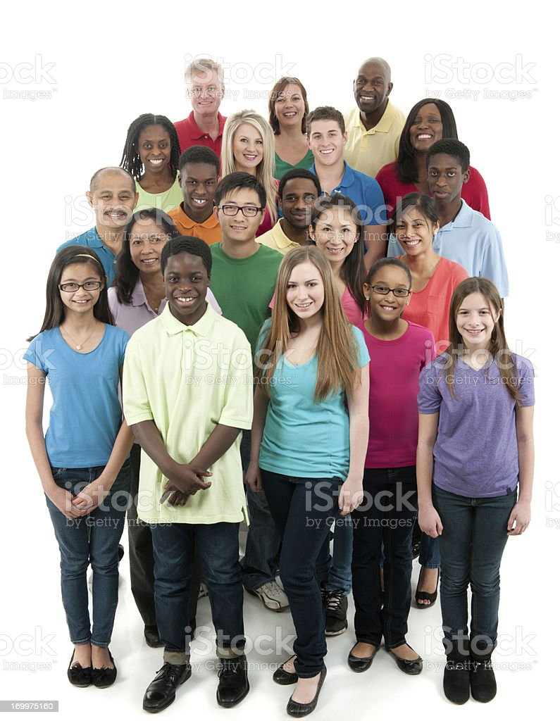 Diverse group stock photo