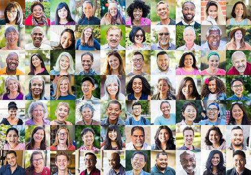 Olika Mänskliga Ansikten-foton och fler bilder på 30-39 år