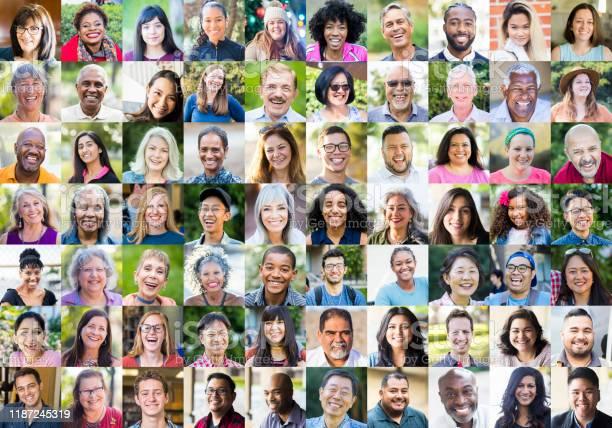 Photo of Diverse Human Faces