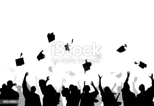 istock Diverse International Students Celebrating Graduation 485468671