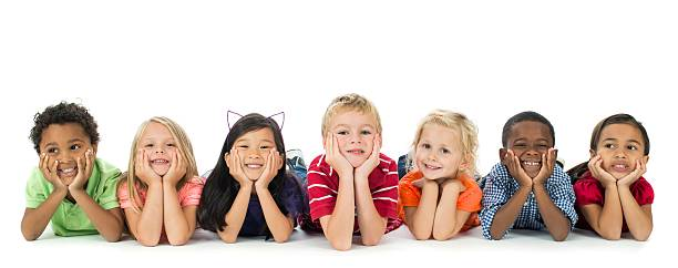 diverse kids - preschool student stock photos and pictures
