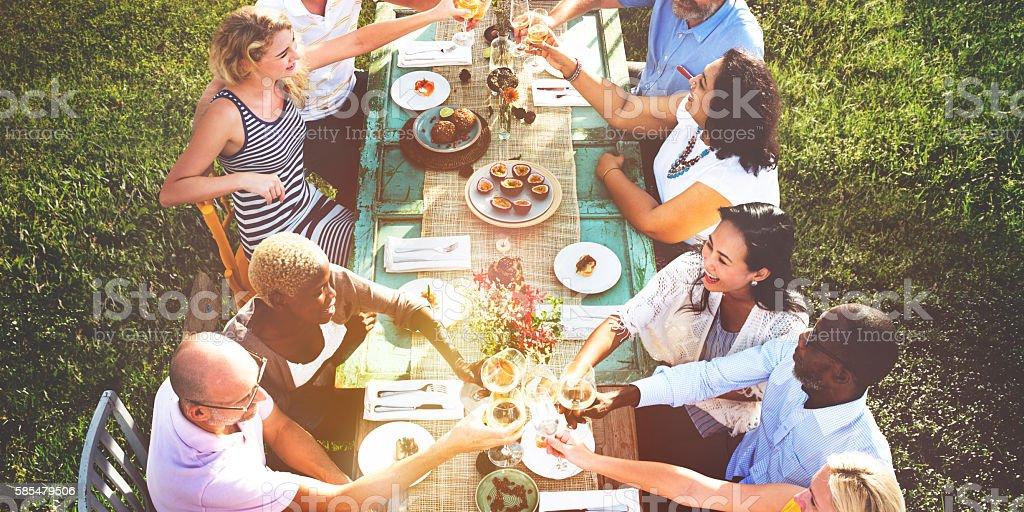 Mobilier de jardin : repas de pâques