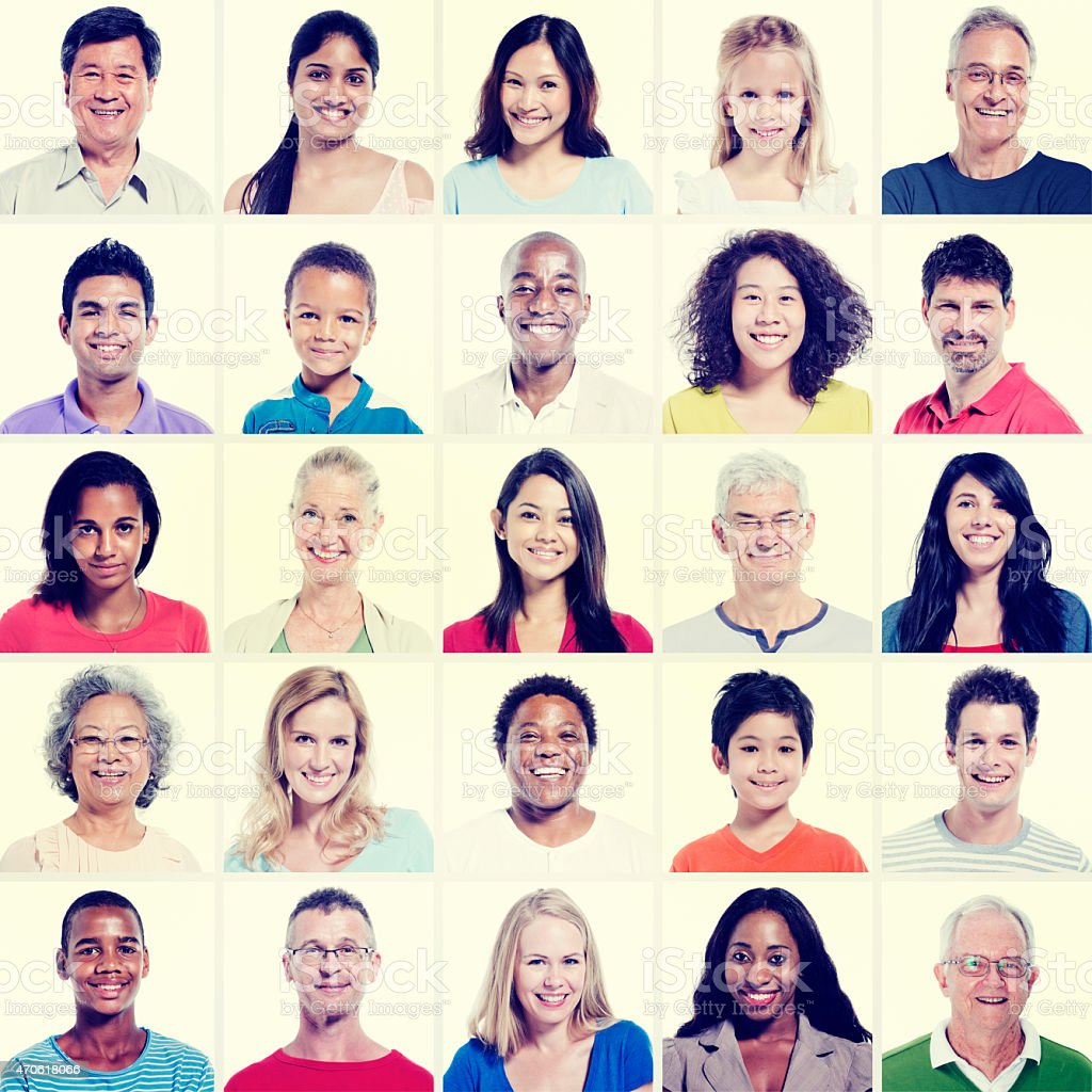 Diverse People Casual Group Concept stock photo