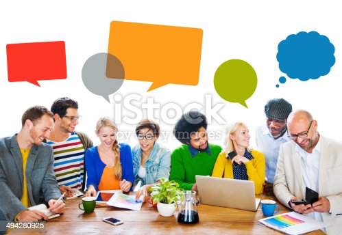 638013502istockphoto Diverse People Discussing About New Ideas 494280925