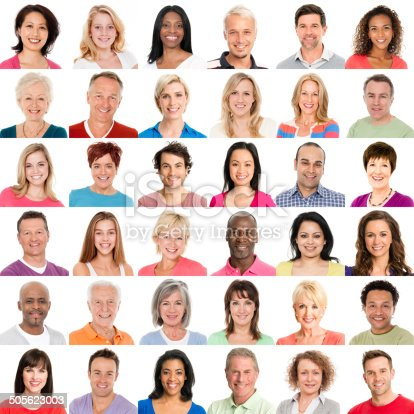 istock Diverse People Smiling 505623003