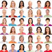 Diverse People Smiling