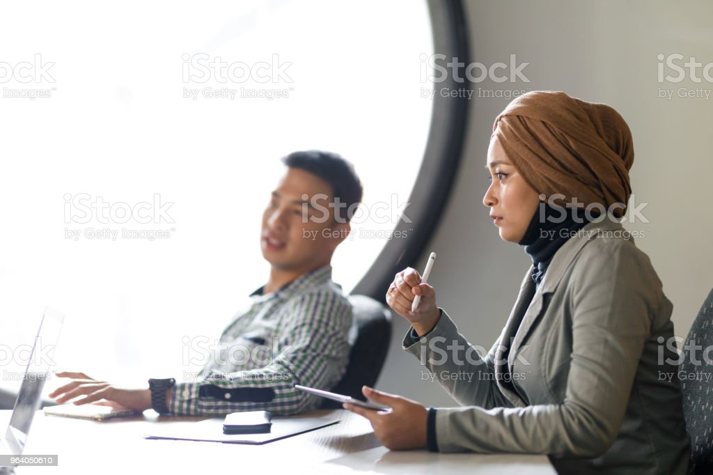 Diverse Sales Team Discussing Ideas - Royalty-free Adult Stock Photo