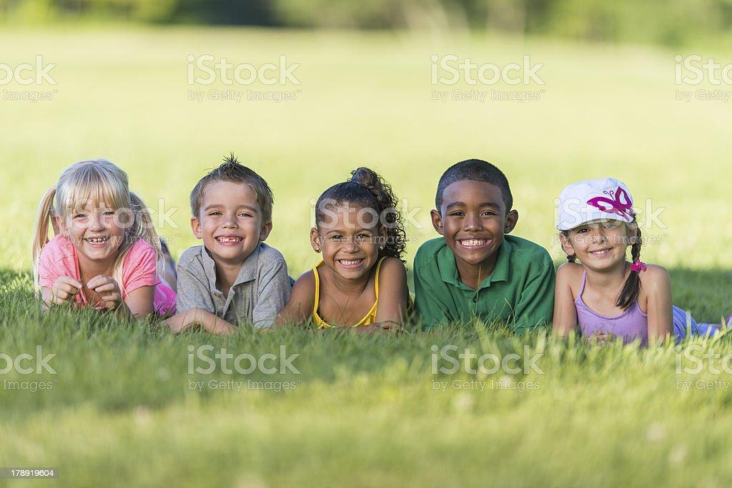 Diverse School Children royalty-free stock photo