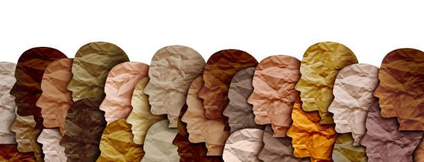 Diverse Society stock photo