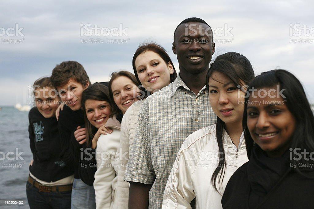 Diverse Team royalty-free stock photo