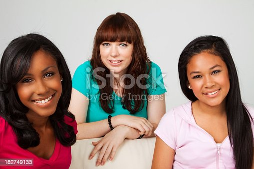 istock Diverse Teenage Girls 182749133