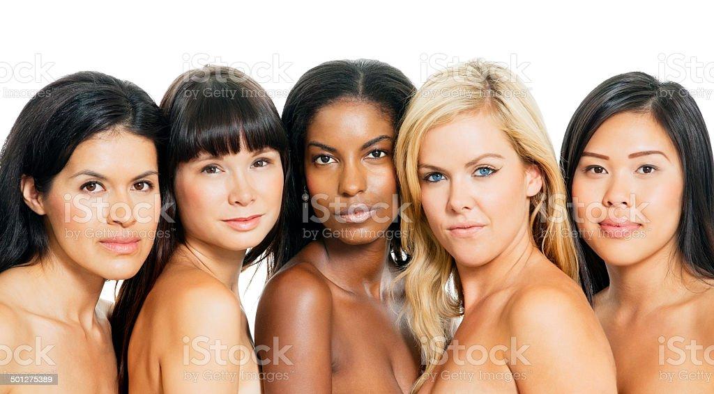 Diverse Women stock photo