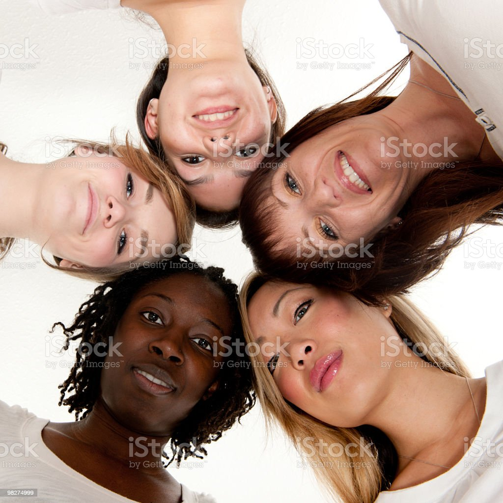 Donne Diverse foto stock royalty-free
