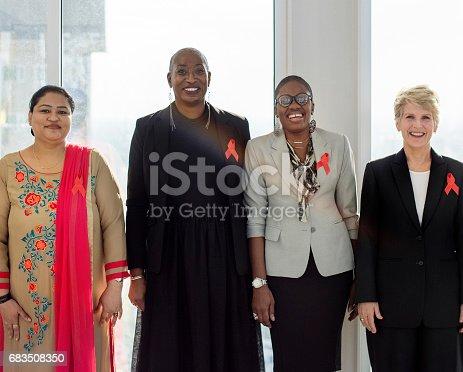 istock Diverse Women Together Partnership Ribbon 683508350