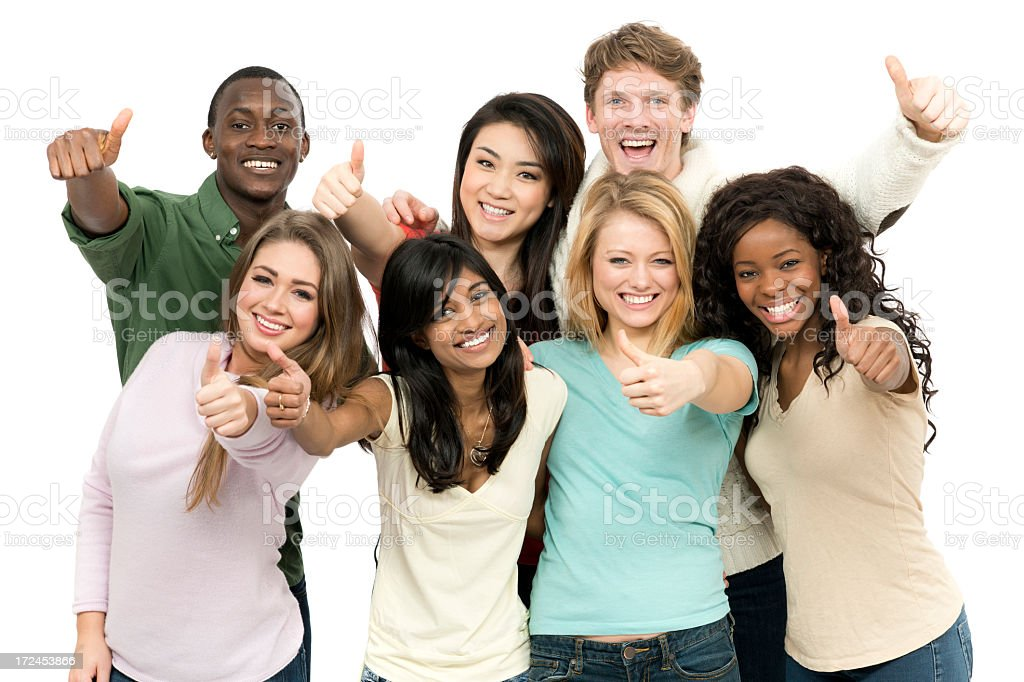 Diverse Young Adults stock photo
