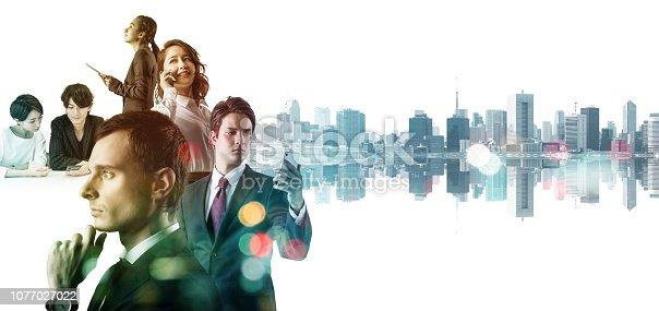 istock Diversity business concept. 1077027022