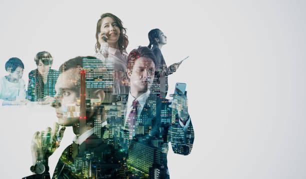 Diversity business concept, stock photo
