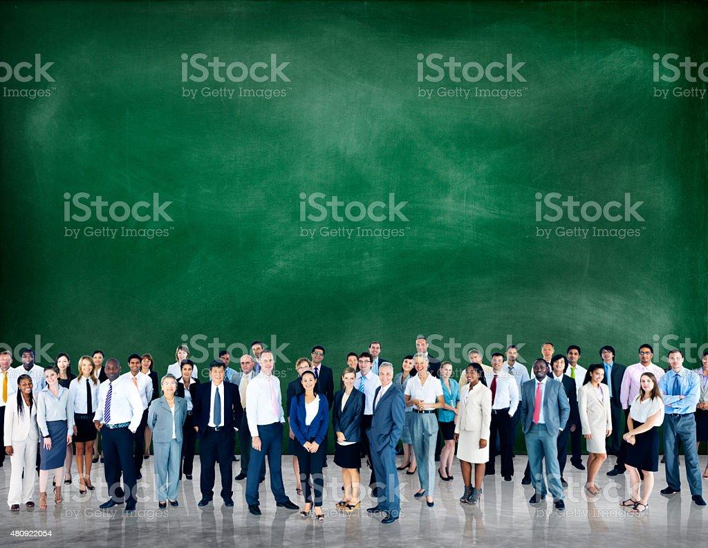 Diversity Business People Community Corporate Team Concept stock photo