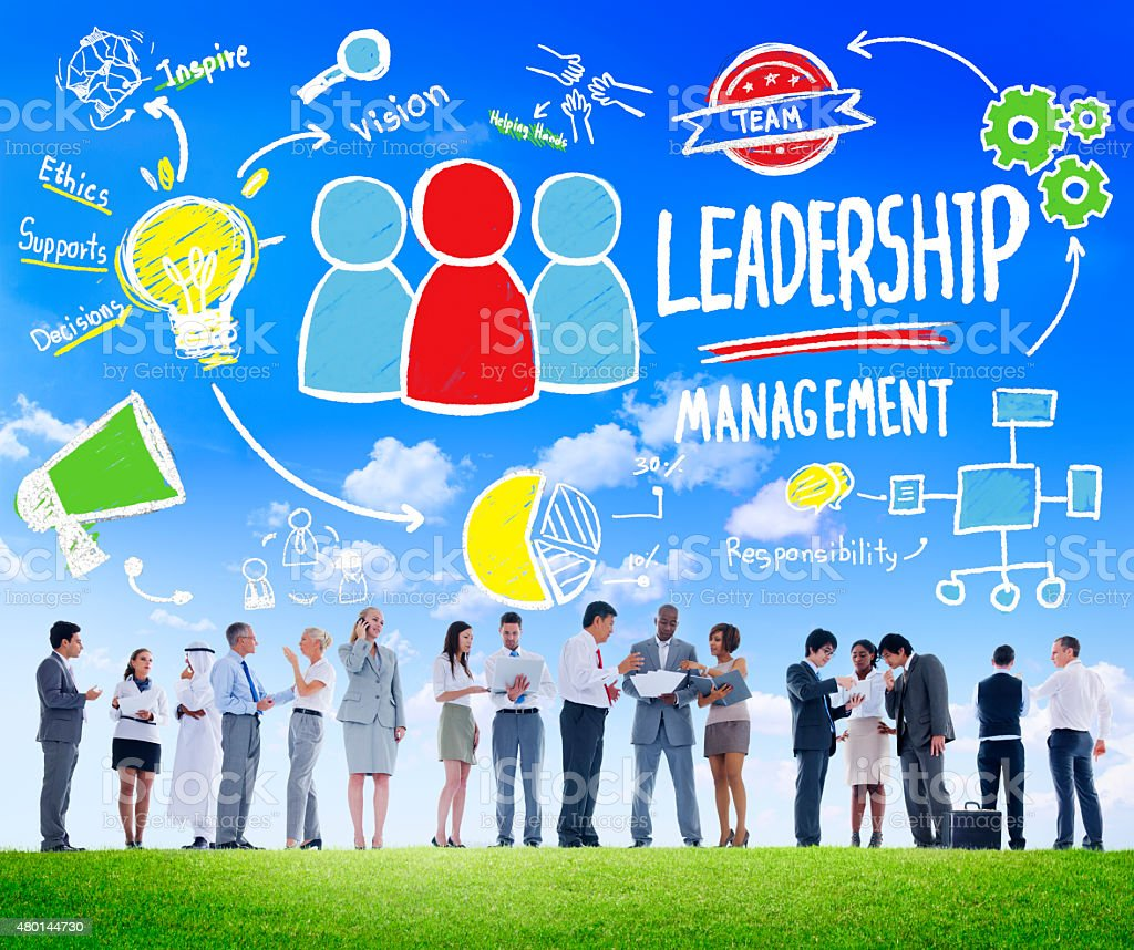 Diversity Business People Leadership Management Discussion Conce stock photo