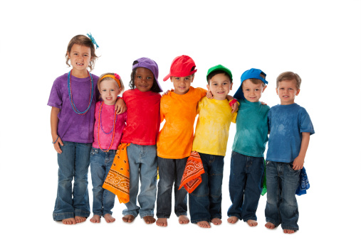 Diversity Group Children Different Ethnicities Together ...
