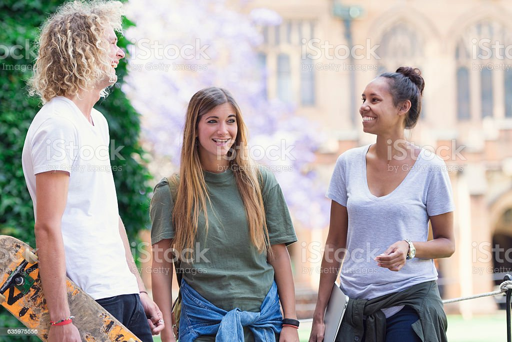 Diversity in higher education stock photo