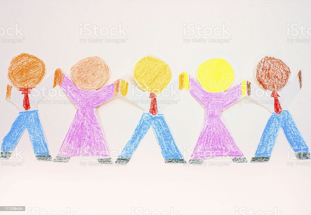 Diversity In The Workplace 1 royalty-free stock photo
