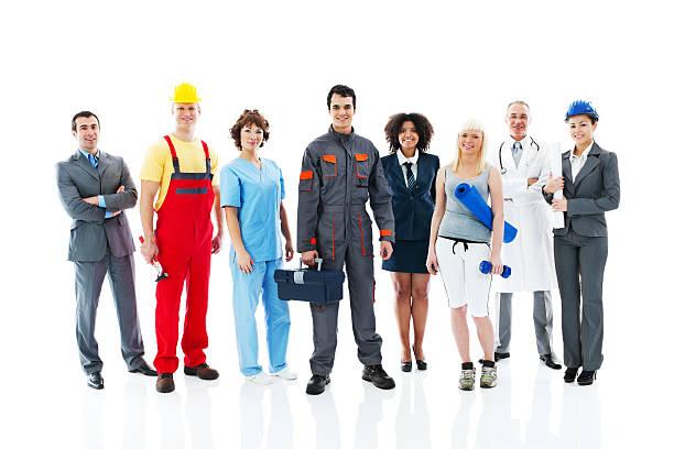 Diversité activités personnes. - Photo