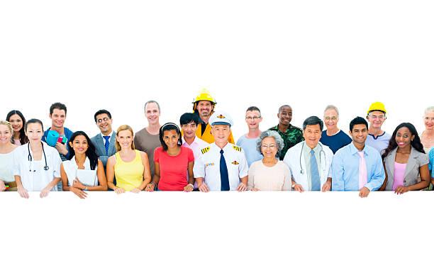 La diversité de Profession supérieure ou intermédiaire personnes travailleurs ensemble - Photo