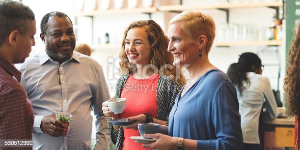 istock Diversity People Party Brunch Cafe Concept 530512992