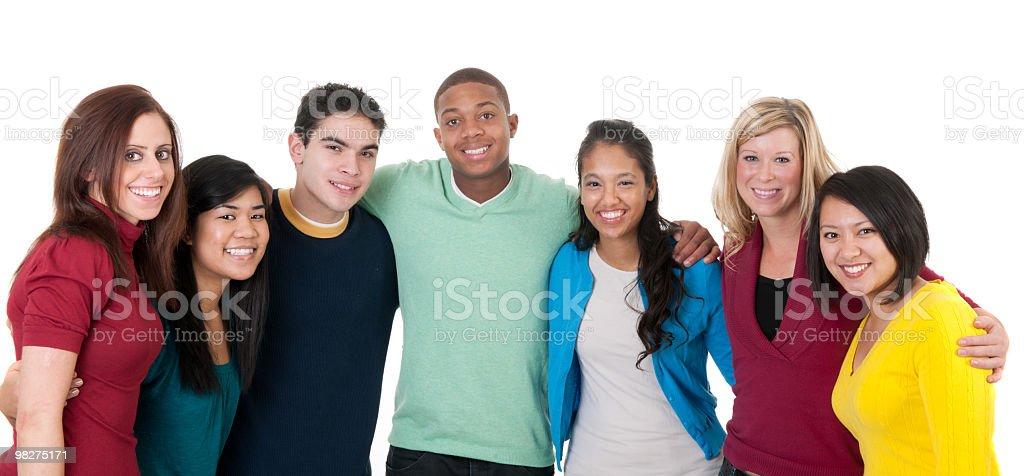 Diversity royalty-free stock photo