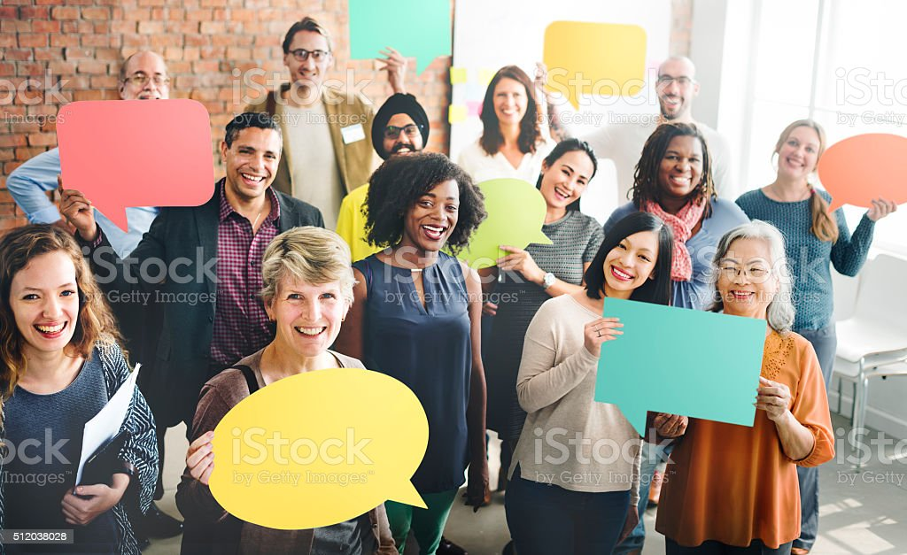 Diversità Squadra comunità Gruppo di persone concetto - foto stock