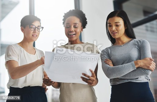 istock Divide the task, share the success 603305776