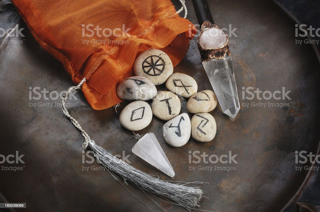 Divination Tools stock photo