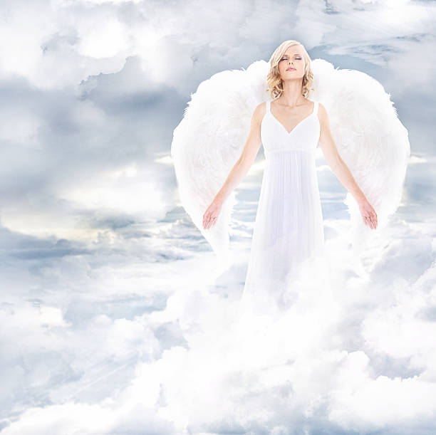 Divine goddess stock photo