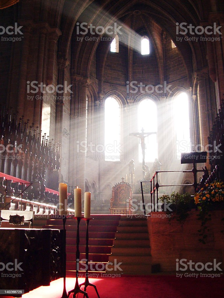Divine Light royalty-free stock photo