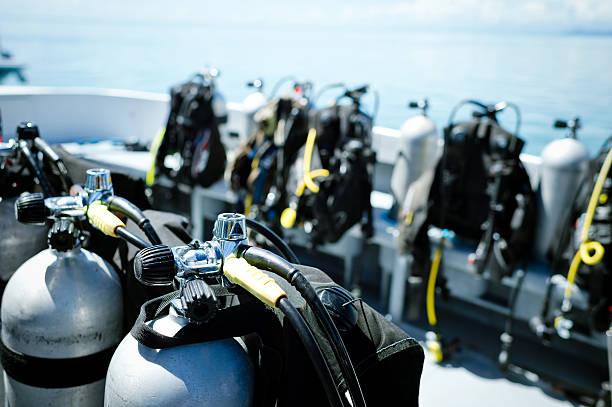 Équipement de plongée à bateaux - Photo