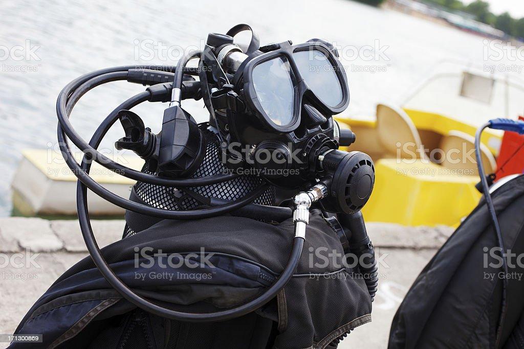 Equipamento de mergulho - foto de acervo