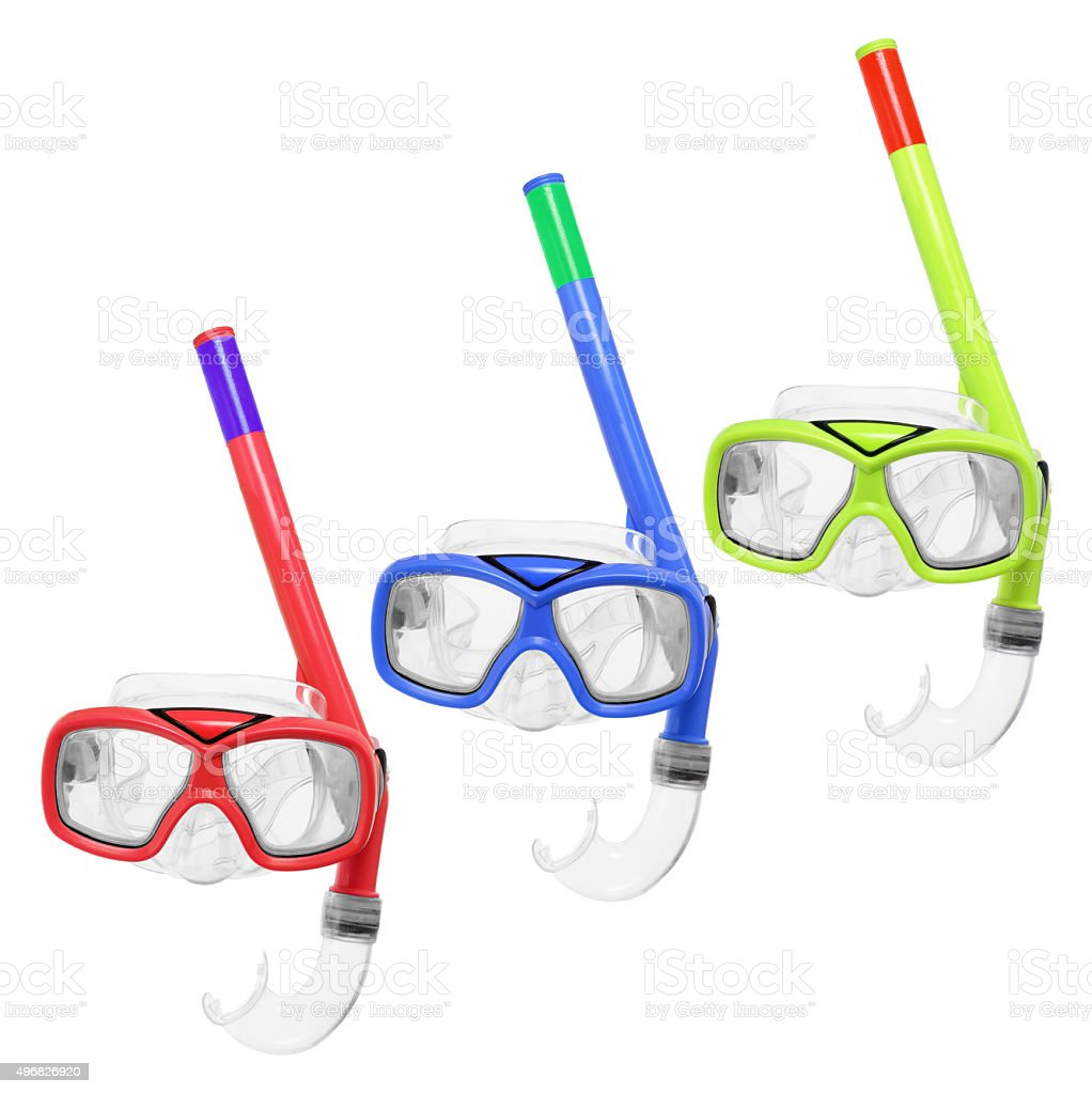 Diving Goggles stock photo