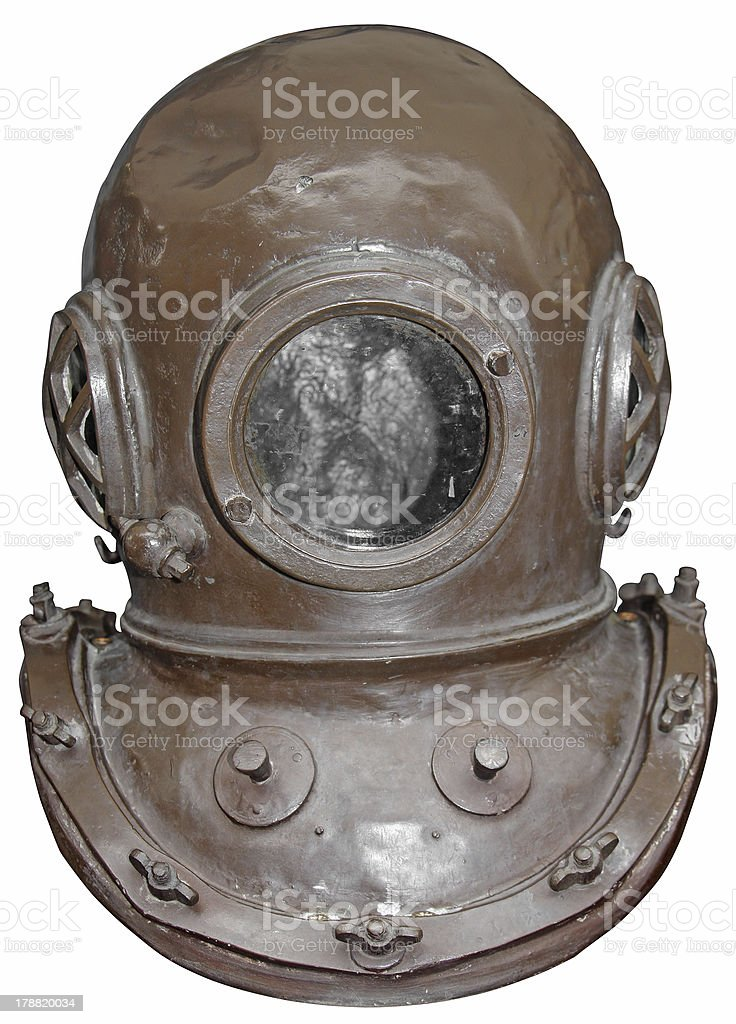 Diving helmet royalty-free stock photo