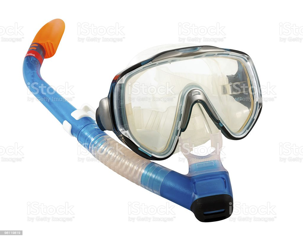 Diving Mask and Snorkel royalty-free stock photo