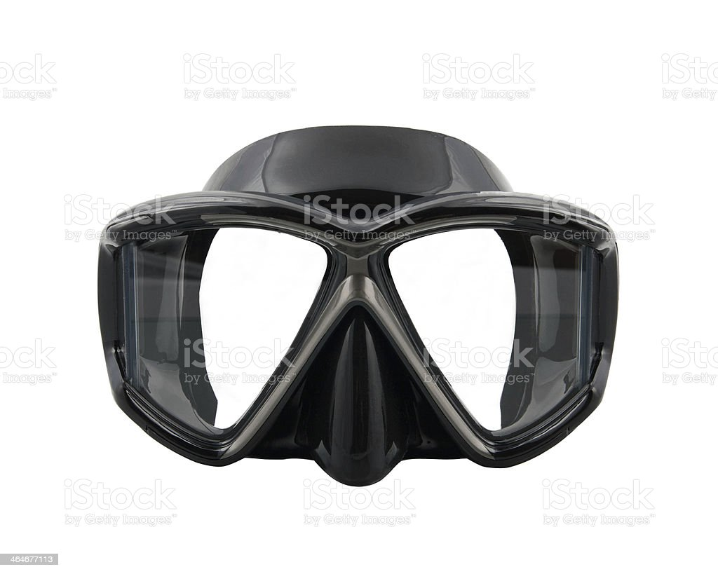 Diving mask stock photo