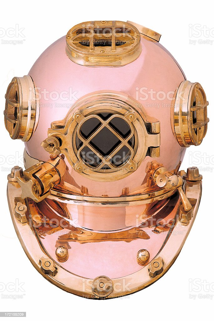 Diving suit royalty-free stock photo