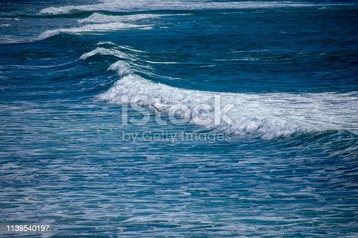 665352250istockphoto Diving under a wave 1139540197