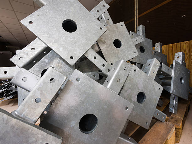 Division Steel stock photo