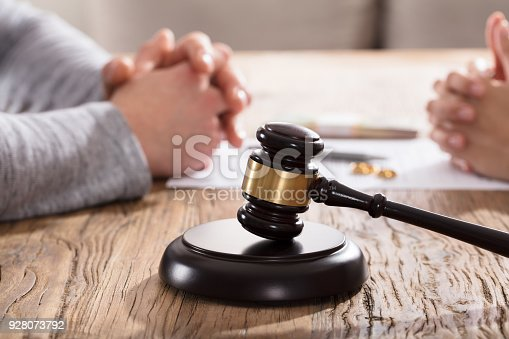 istock Divorce Concept With Gavel 928073792